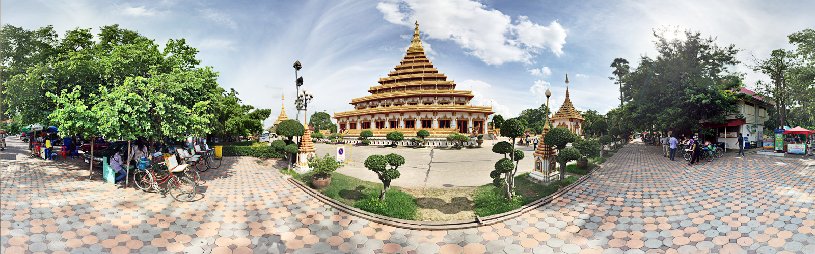 Nong Waeng Temple in Khon Kaen